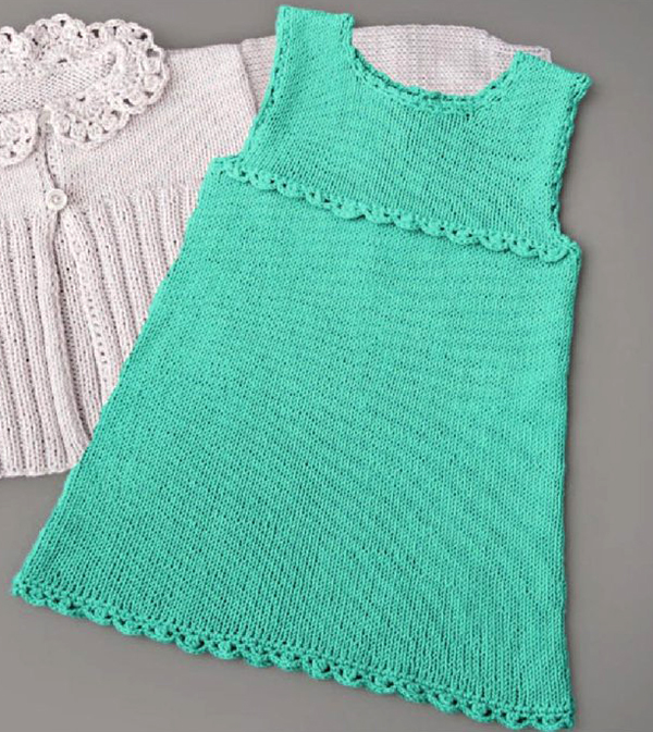 пряжа для летнего платья спицами