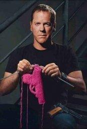 Вязание мужской релакс